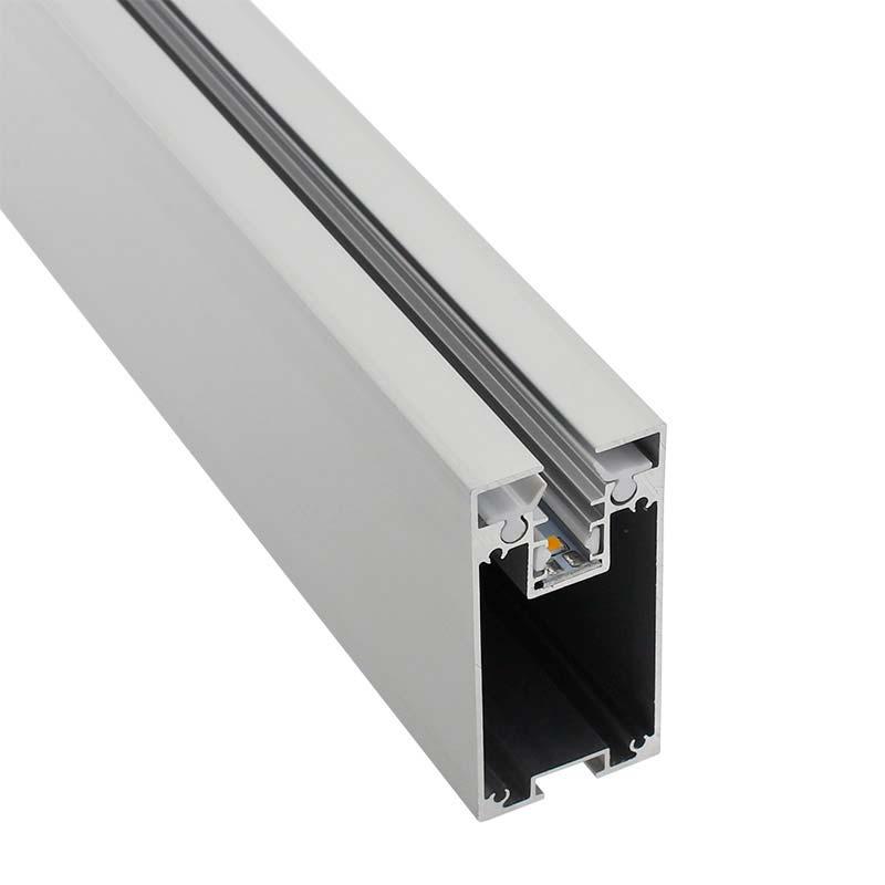 Perfil aluminio PROLUX para tiras LED, 120cm